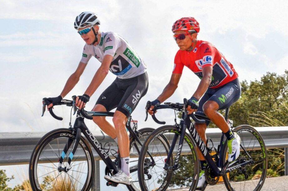 Nairo Quintana e Froome vuelta