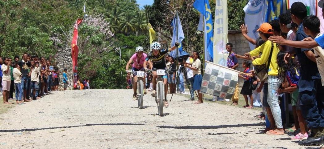 Tour de Timor stage 3 Celina Carpinteiro