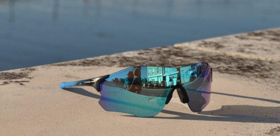 f2a09e7d36 Óculos Oakley EVZero Path Prizm Polarized Sapphire Fade Collection ...