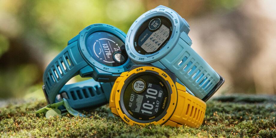 Três novas opções de cor para o relógio Instinct da Garmin