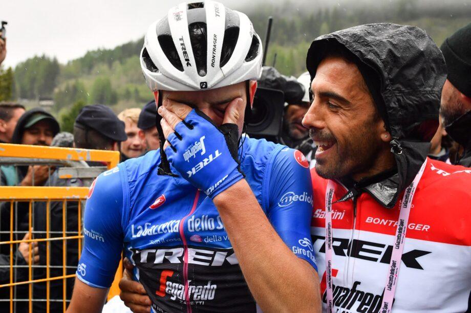 Giulio Ciccone vence 16.ª etapa do Giro d'Italia