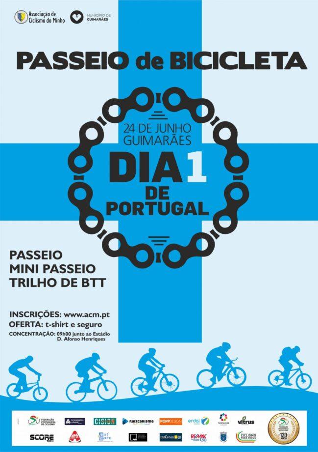 11º Passeio de Bicicleta Dia 1 de Portugal