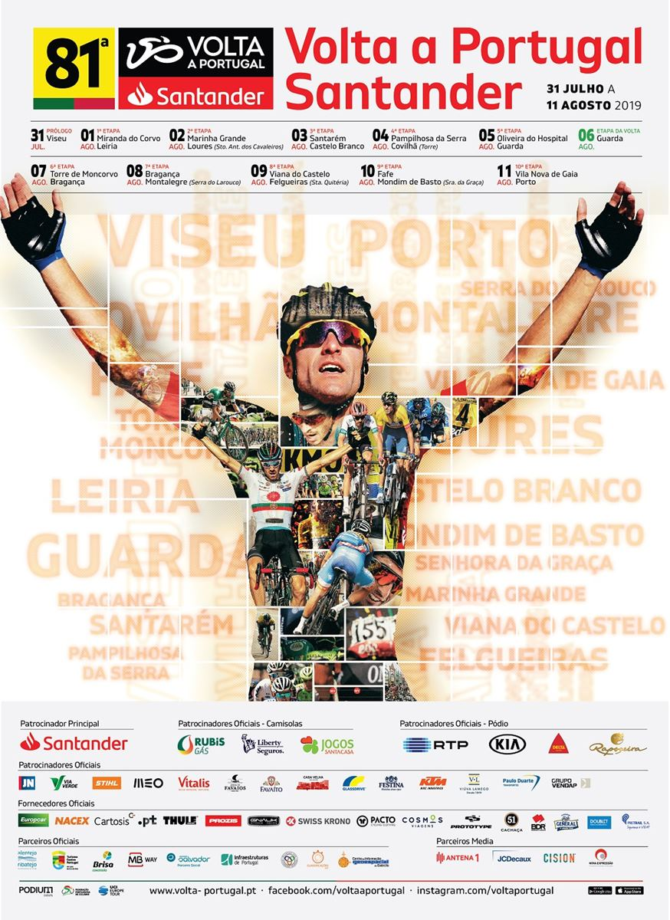Resultado de imagem para volta a portugal em bicicleta 2019