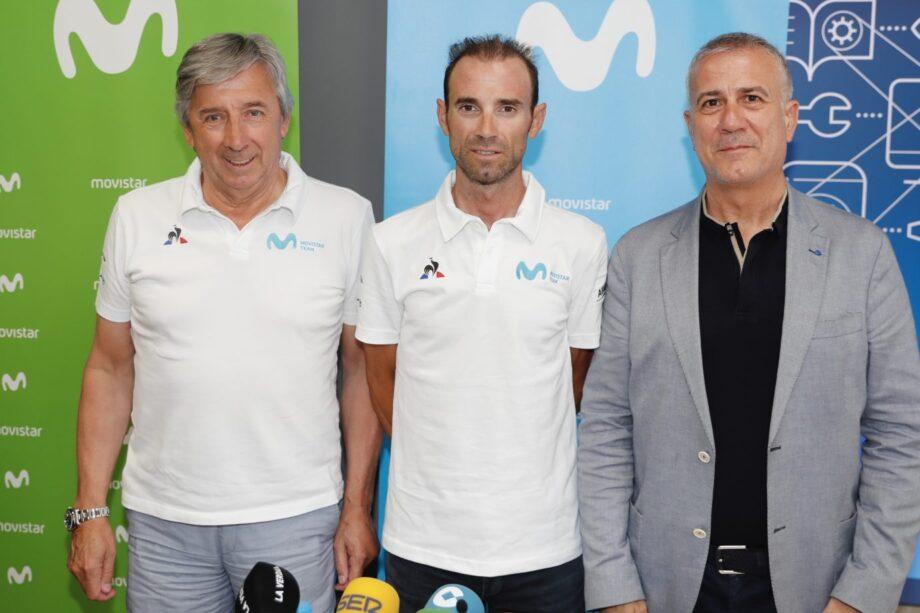 Alejandro Valverde renova contrato com a Movistar até 2021