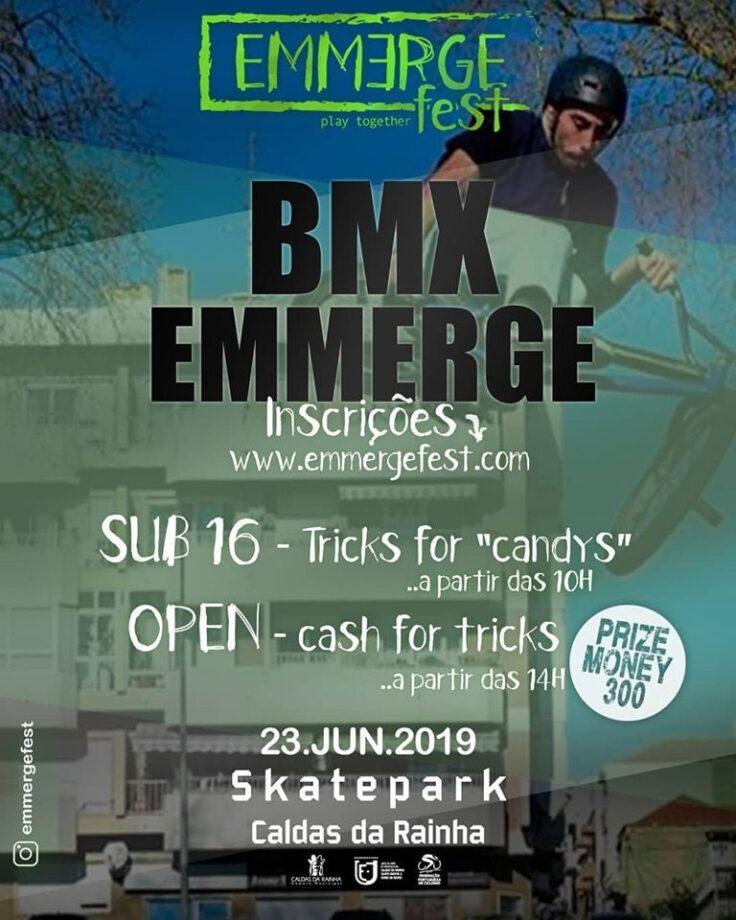 BMX Freestyle faz parte do programa do Emmerge Fest