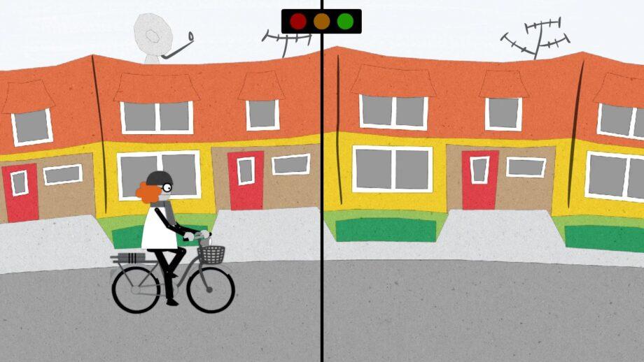 Bicicleta ou automóvel