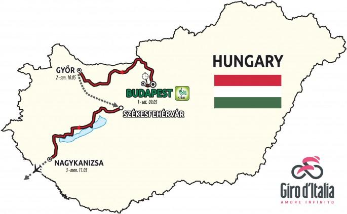 Giro d'Italia de 2020 vai começar na Hungria