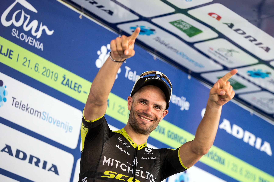 Luka Mezgec sobe à liderança da Volta à Eslovénia