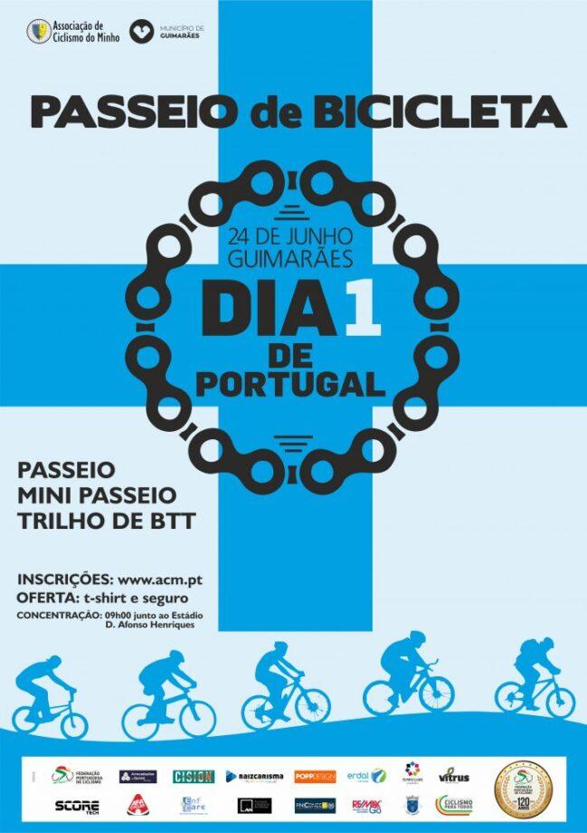 Passeio de Bicicleta Dia 1 de Portugal 2019