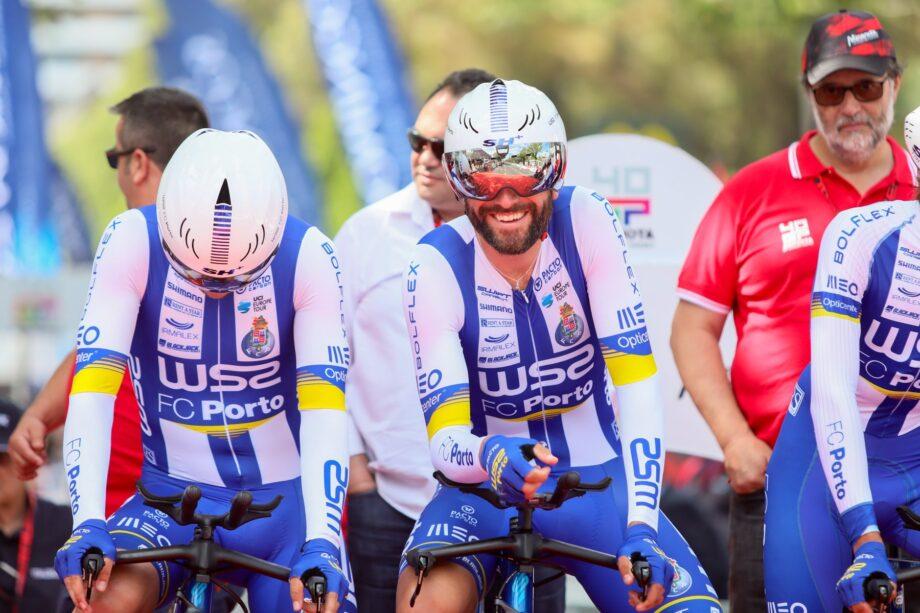 Raúl Alarcón caiu na última etapa do Grande Prémio Abimota e foi transportado para o hospital