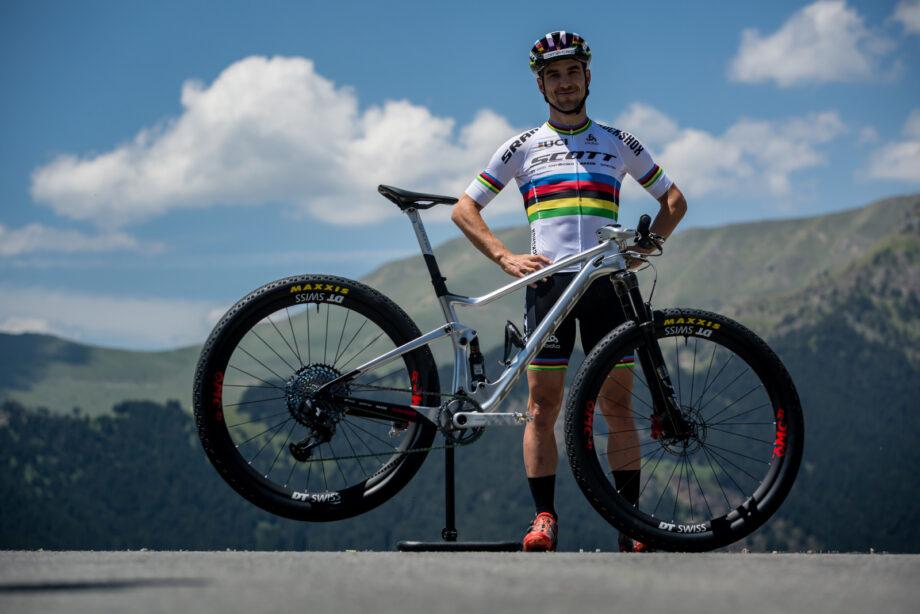 A Scott Spark RC 900 WC que Nino Schurter vai usar na Taça do Mundo em Andorra