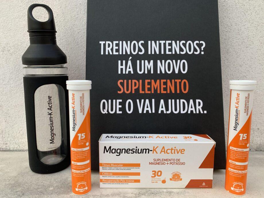 Magnesium-K Active - Energia Ativa para treinos intensos