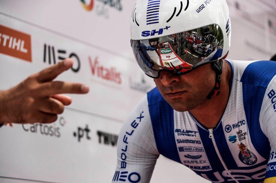 Samuel Caldeira defende amarela na primeira etapa da Volta a Portugal