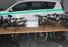 14 bicicletas roubadas na Suíça para serem revendidas em Portugal