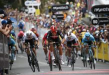Caleb Ewan vence segunda etapa do Tour Down Under