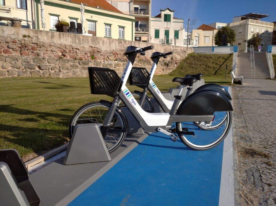 Figas o sistema de bicicletas partilhadas da Figueira da Foz