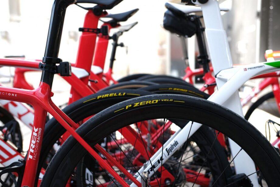 Pirelli parceira da Trek-Segafredo em 2020