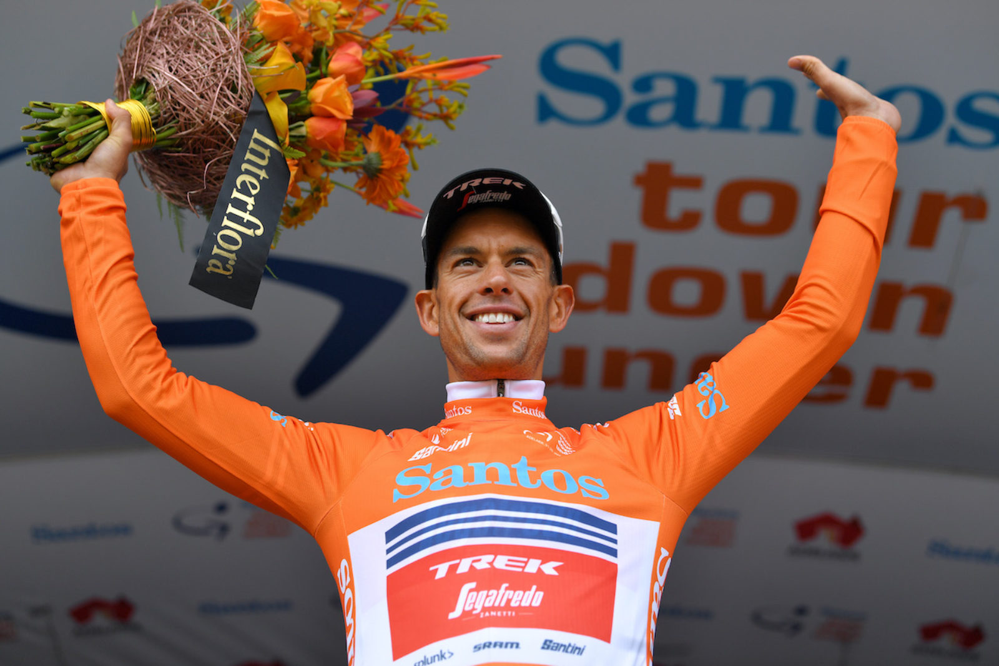 Richie Porte sobe à liderança do Tour Down Under ao vencer a terceira etapa