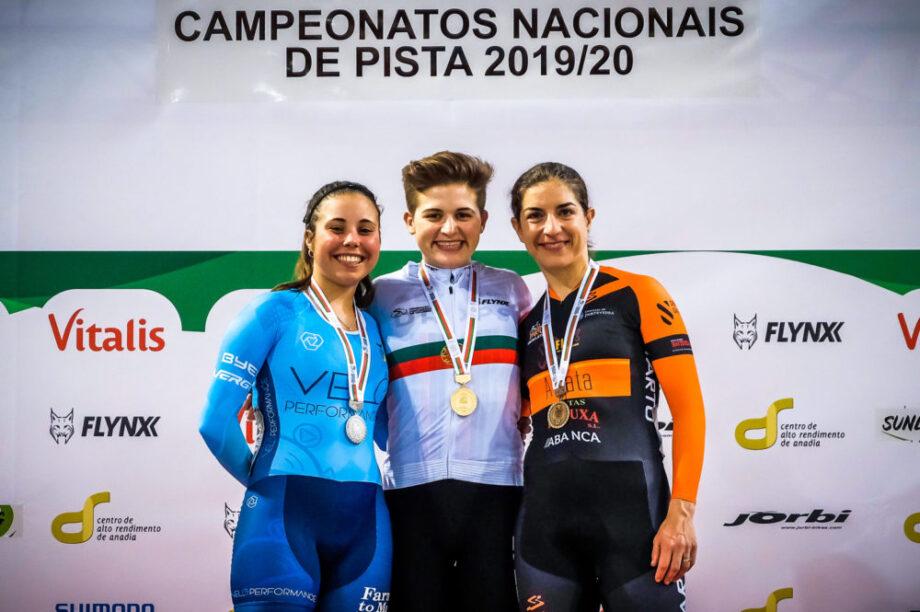 Equilíbrio masculino e Maria Martins em destaque no Campeonato Nacional de Pista