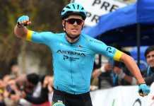 Jakob Fuglsang vence primeira etapa da Volta à Andaluzia