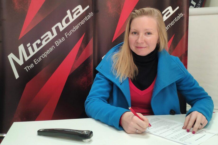Maaris Meier vai correr com a Miranda Factory Team em 2020