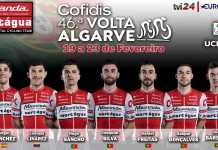 Miranda-Mortágua corre lado a lado com os melhores do mundo na Volta ao Algarve
