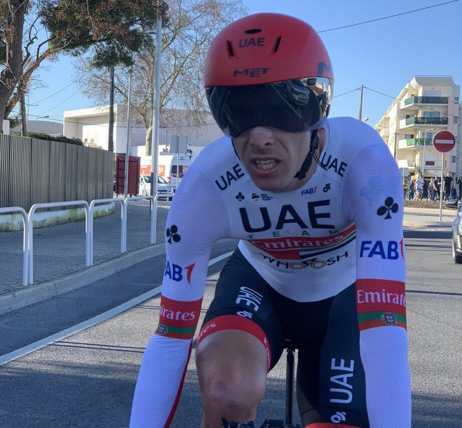 Rui Costa (UAE Emirates) terminou na quarta posição