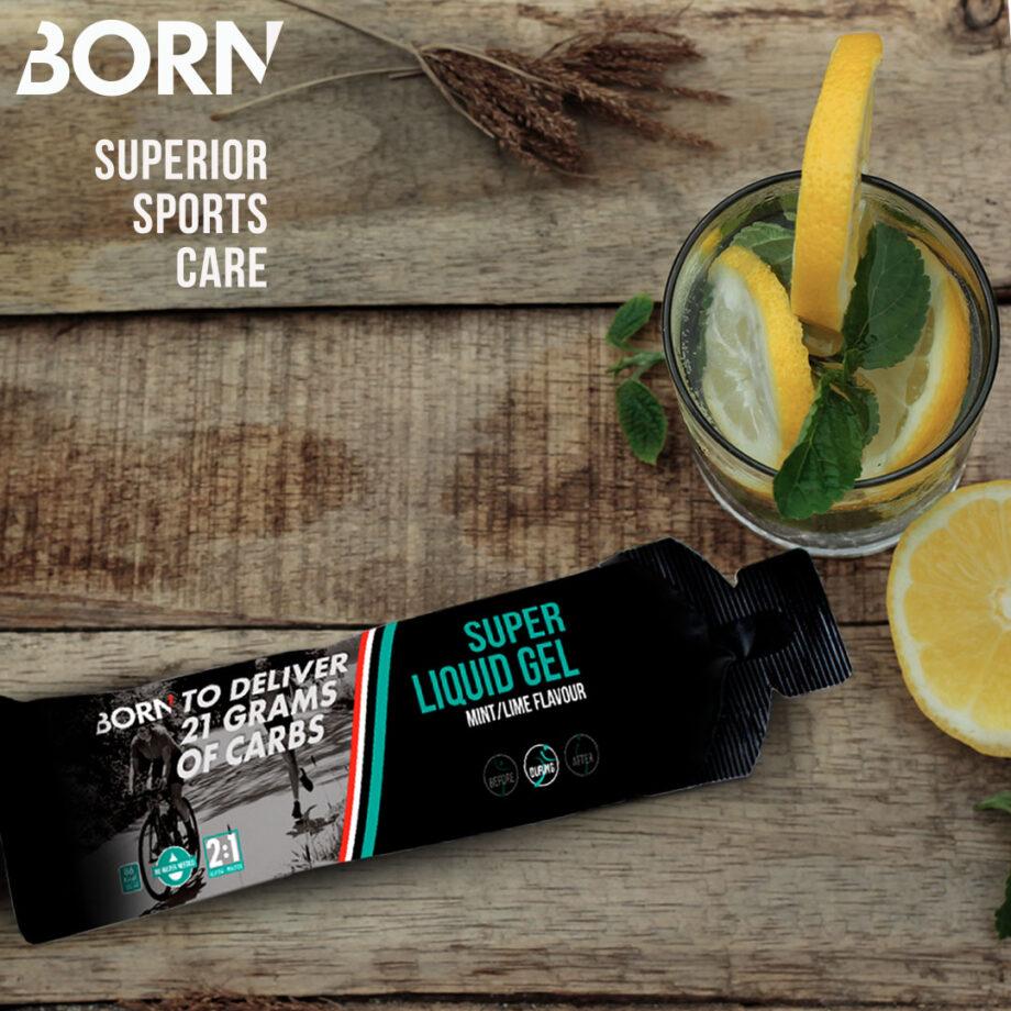 A BORN lança o novo Super Gel Líquido, de sabor a menta e lima