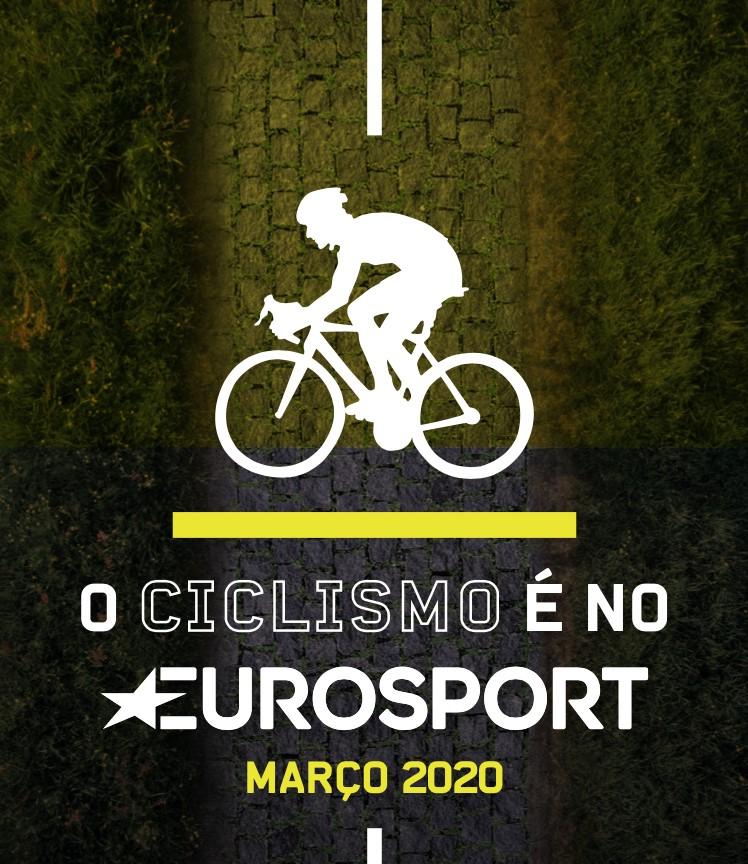 Calendário de Ciclismo do Eurosport para março