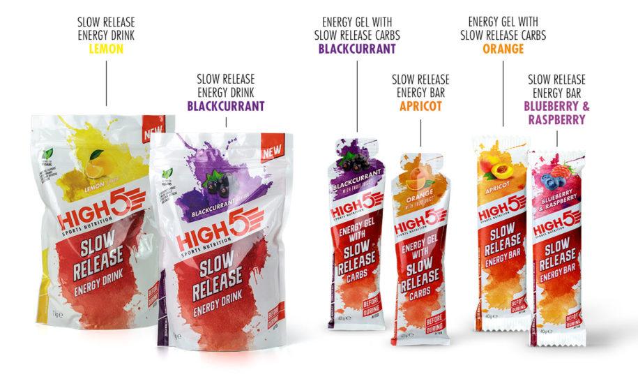 HIGH5 lança a gama Slow Release Energy em colaboração com a BORA – hansgrohe