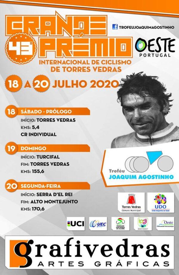 Troféu Joaquim Agostinho confirmado entre 18 a 20 de julho