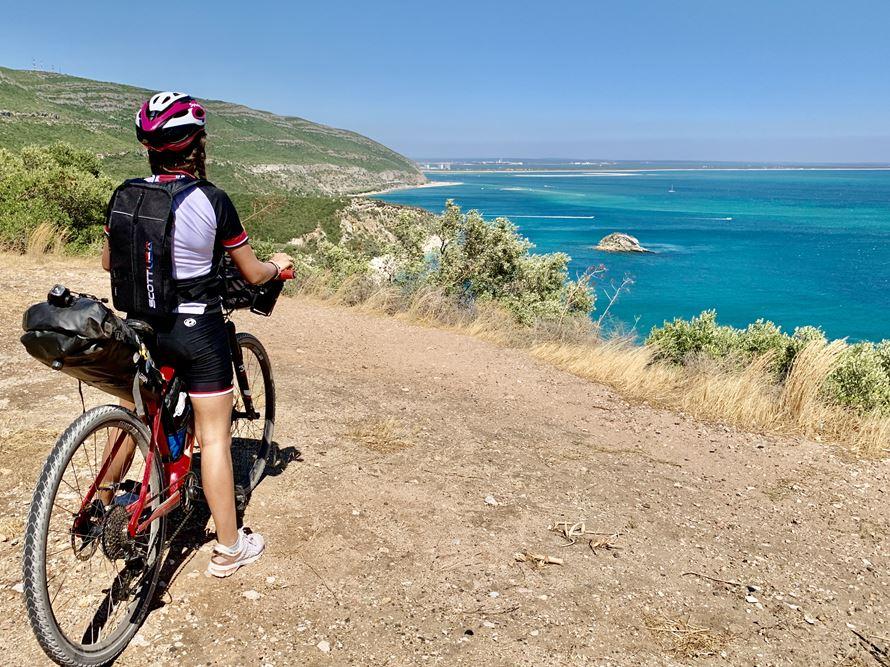 Bike Around Portugal Etapa 1 Nirvana Studios - Setúbal - Distância 82 km Altimetria +900m