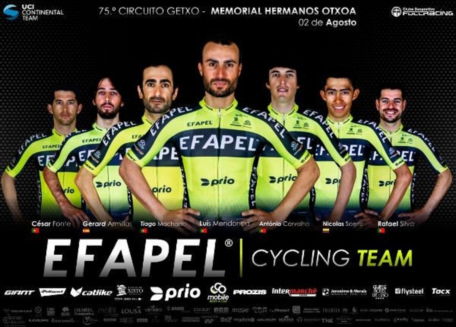 EFAPEL corre no domingo no País Basco o 75.º Circuito de Getxo