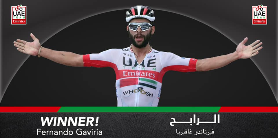 Fernando Gaviria vence 2ª etapa da Volta a Burgos