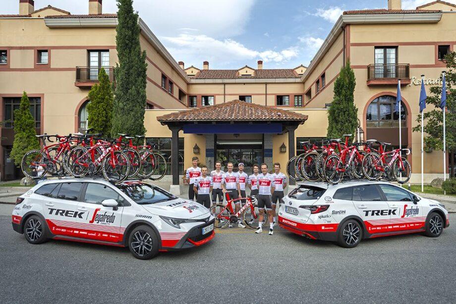 Trek-Segafredo e Toyota melhoram parceria