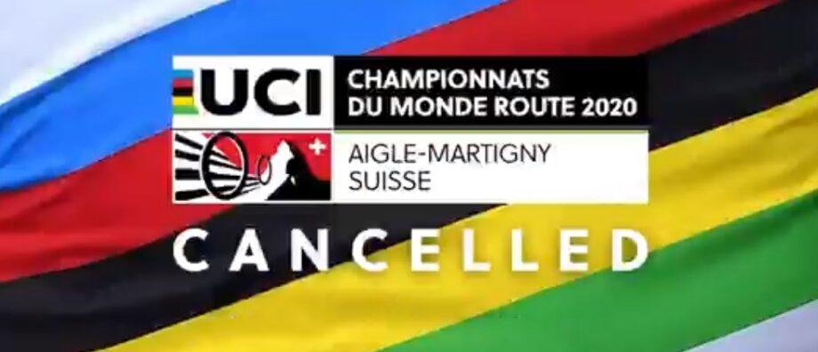 Cancelados Mundiais de ciclismo de estrada na Suíça