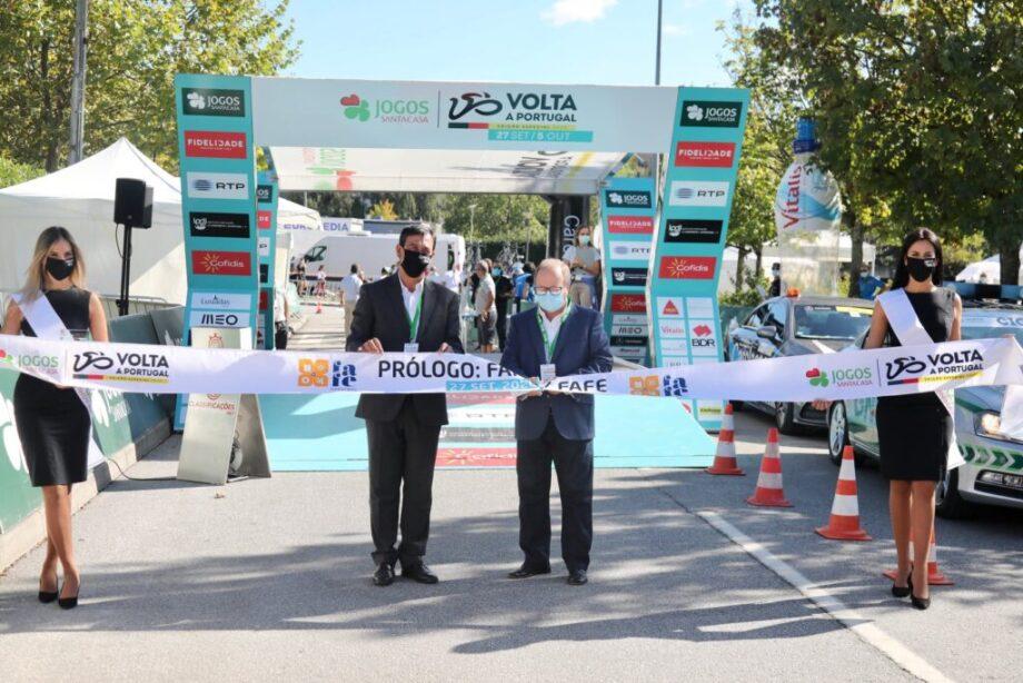 Gustavo Veloso vence prólogo em Fafe e é o primeiro líder da Volta a Portugal Jogos Santa Casa
