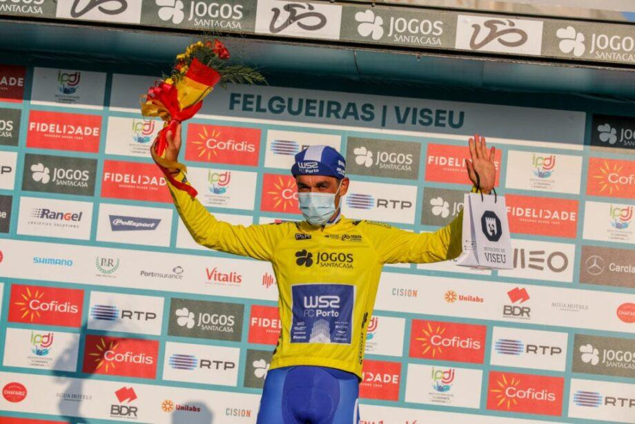 Oier Lazkano vence terceira etapa da Volta a Portugal, Amaro Antunes segue líder