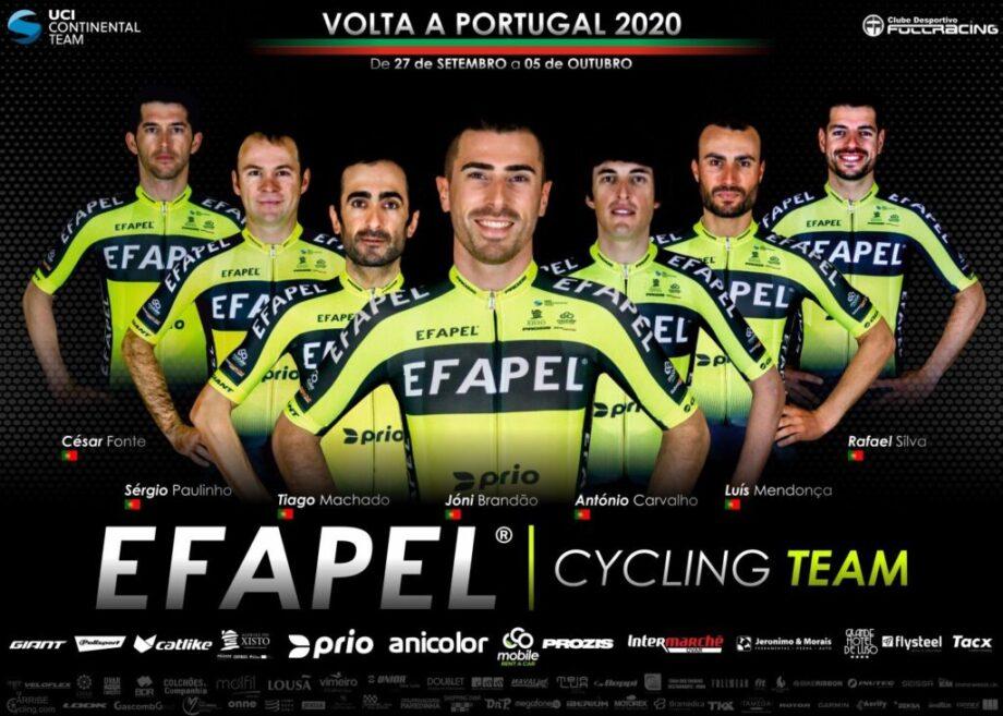 Volta a Portugal Joni Brandão e a Efapel podem não ganhar mas vão vender cara a derrota