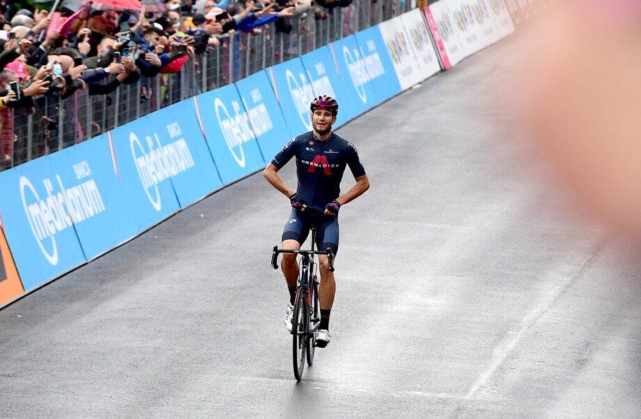 João Almeida reforça liderança, Filippo Ganna vence quinta etapa do Giro d'Italia