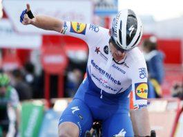 Sam Bennett prolonga domínio irlandês ao 'sprint' em dia tranquilo na Vuelta