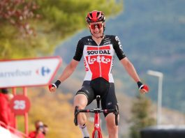 Tim Wellens vence quinta etapa da Vuelta, Primoz Roglic segue líder