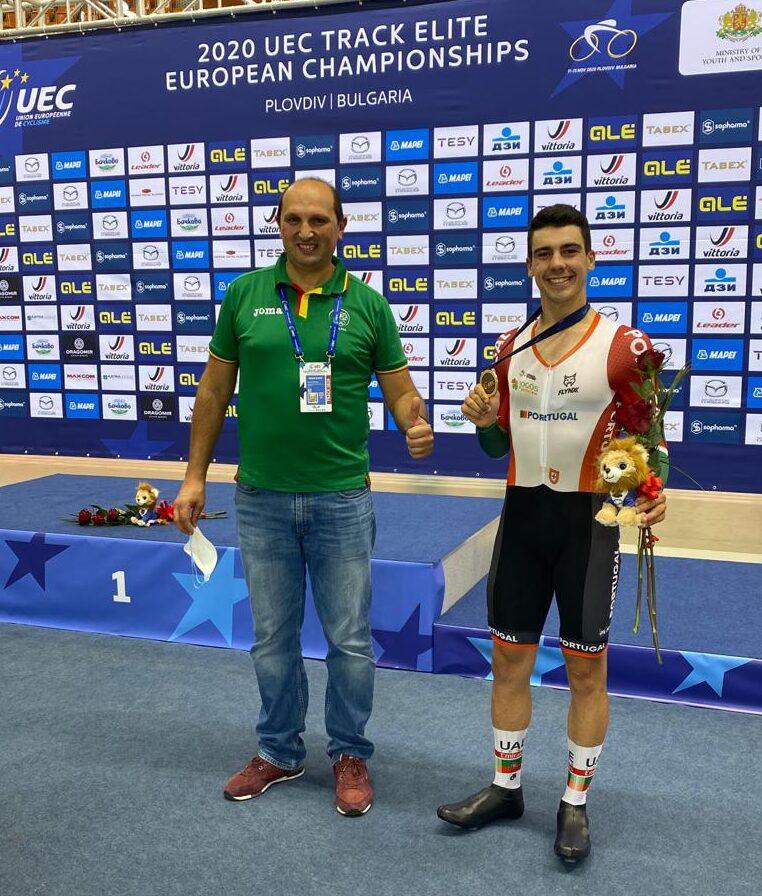Campeonato da Europa de Pista | Iuri Leitão conquista medalha de bronze em omnium